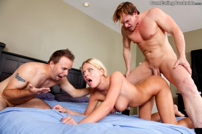 Riley Evans Threesome